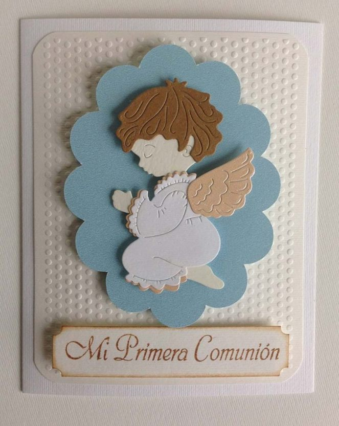 tarjeta primera comunion