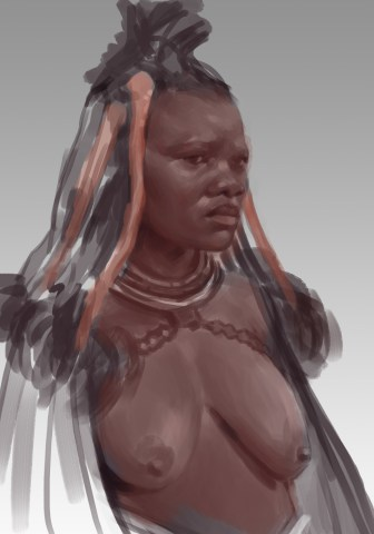 African Tribe Woman #1
