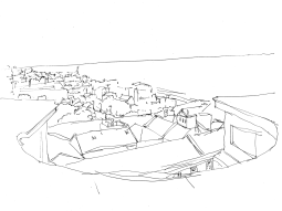 A Great View (Urban Sketch)