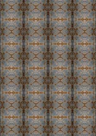 Copper Blue pattern