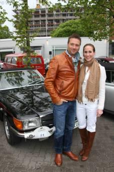 ARD Moderator Jörg Boecker mit Ehefrau Jessica | foto(c)WEmmerich