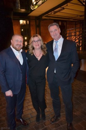 Christian Kostiuk mit Claudia Schulz und Jens Stacklies