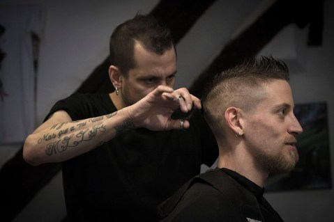 Hair Gear Club, maggio 2015. © Claudia Stritof. All rights reserved.