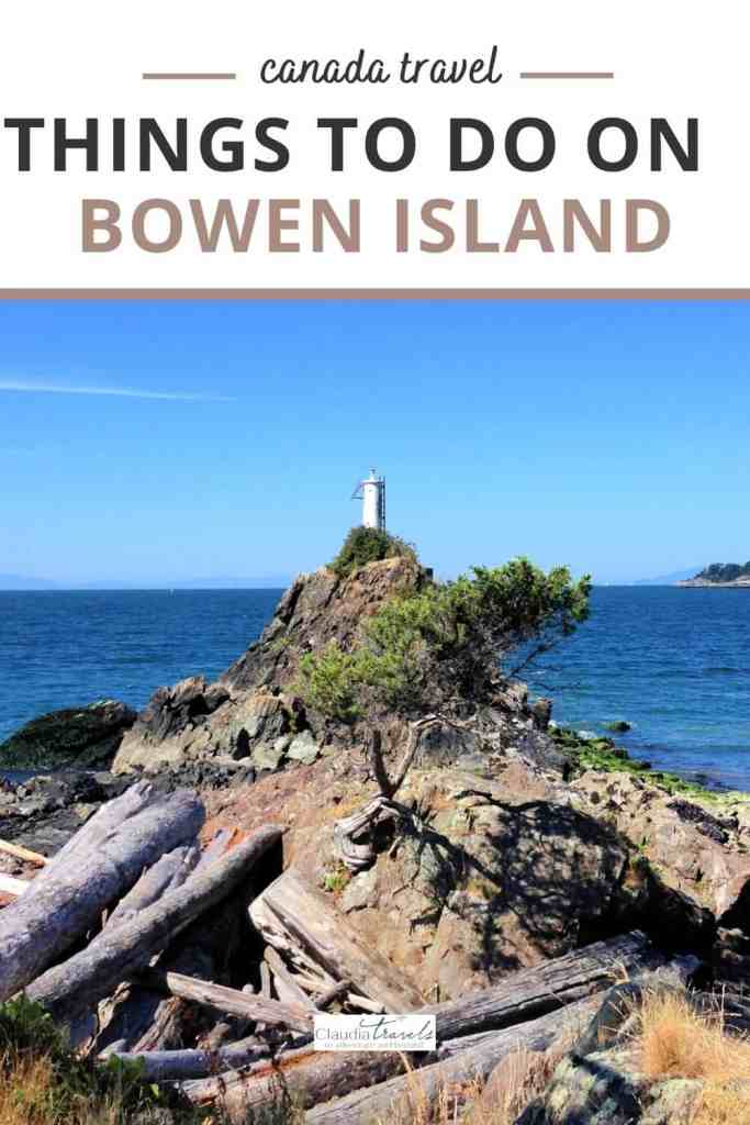 lighthouse on beach on bowen