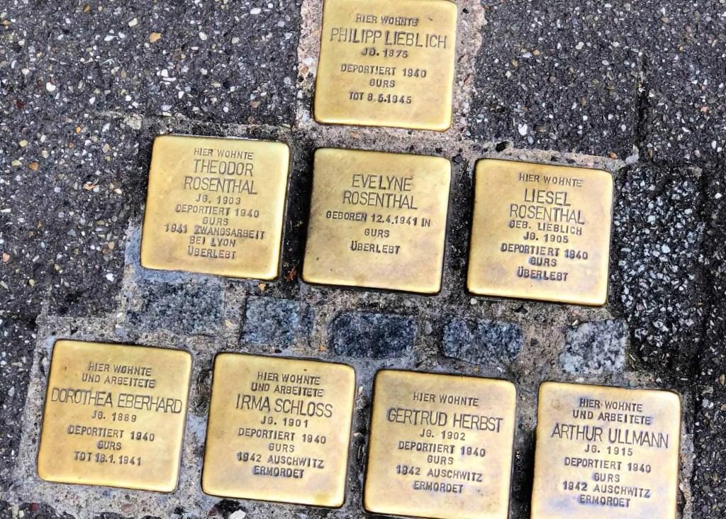 stumbling stones in baden-baden