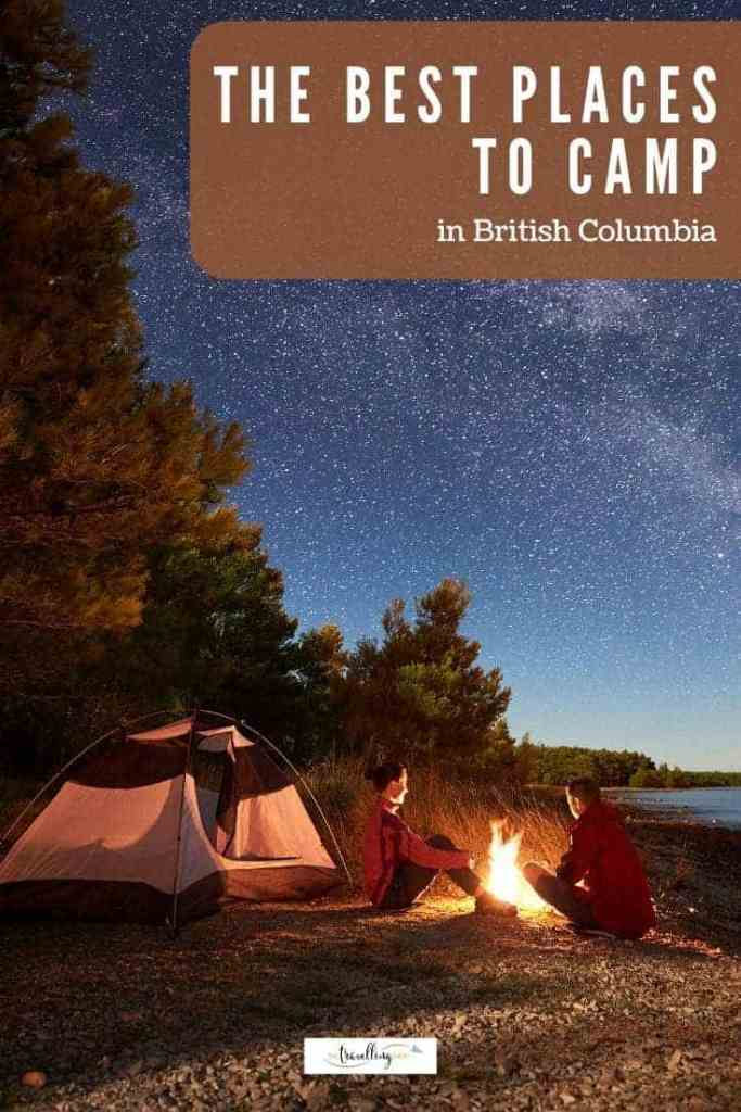 best campgrounds in british columbia