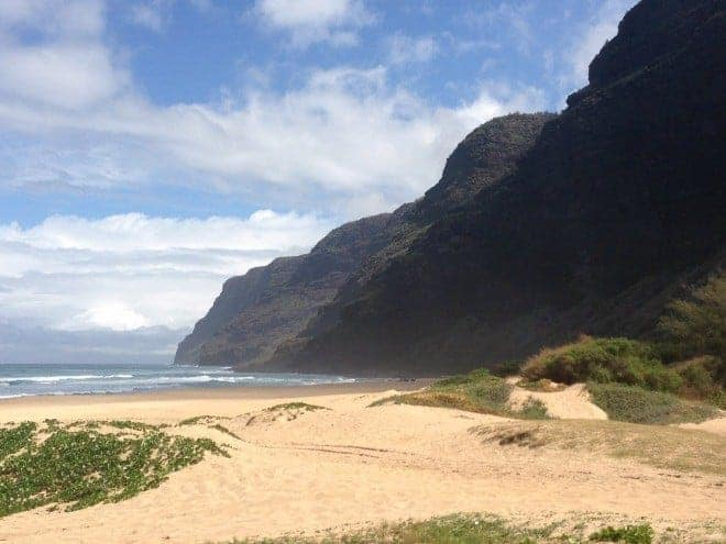 polihale beach kauai