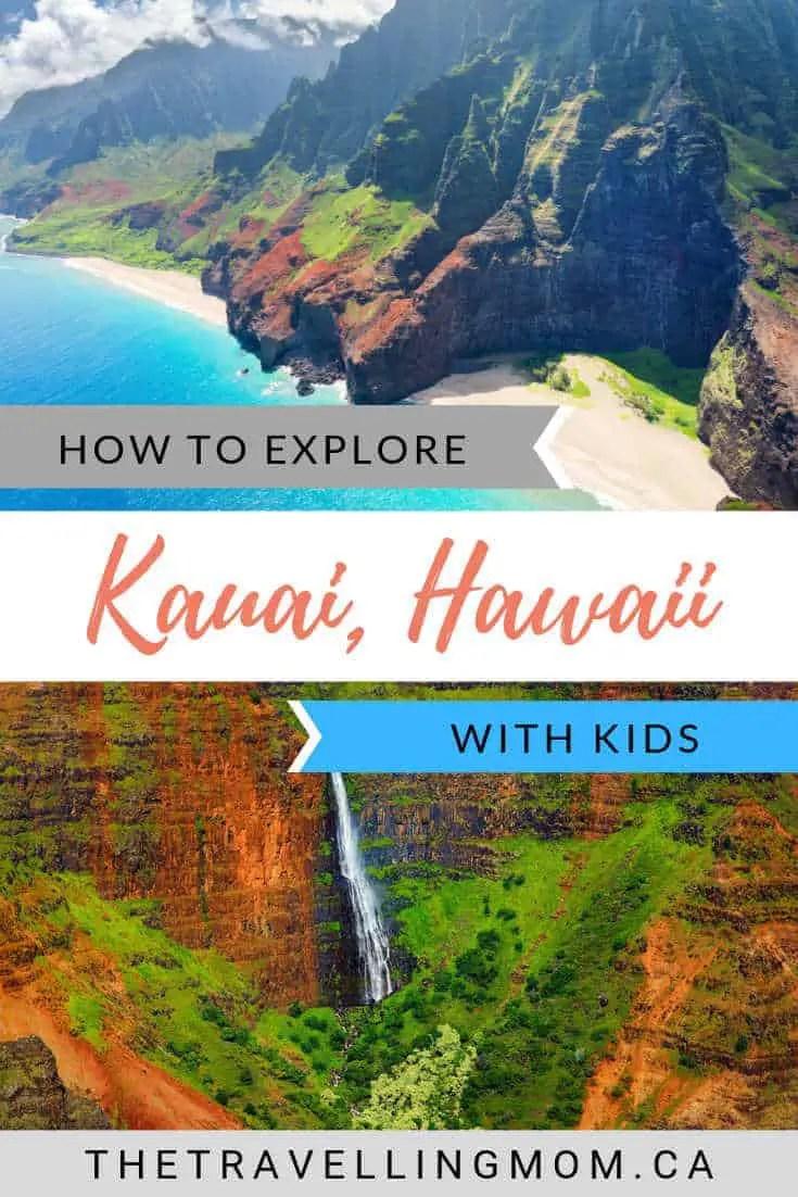 From swimming with turtles to hiking the Na Pali Coast, enjoy the Garden Isle's Aloha Spirit with this list of 10 family-friendly things to do in Kauai. #hawaii #familytravel #hawaiitravel #springbreak