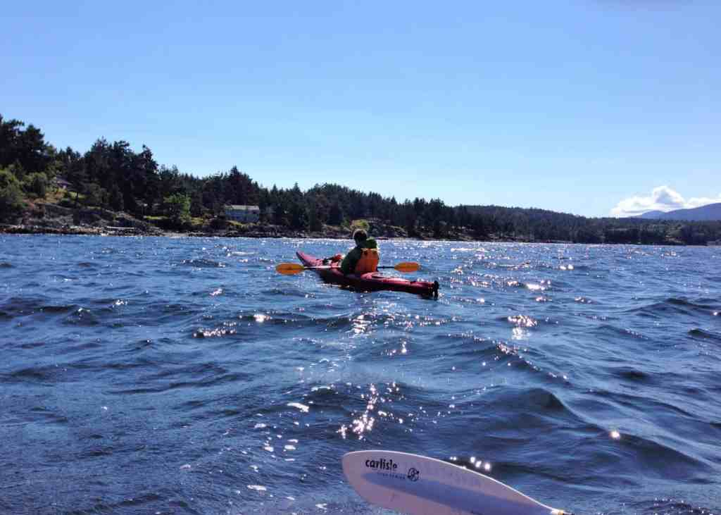 kayaking in parksville with kids