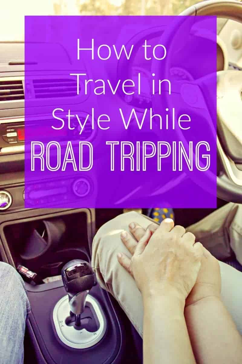 travel in style on road trips