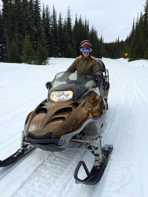 Embrace the spirit of winter adventure by snowmobiling at Sun Peaks Resort in the champagne powder of Canada's second largest ski resort.   thetravellingmom.ca