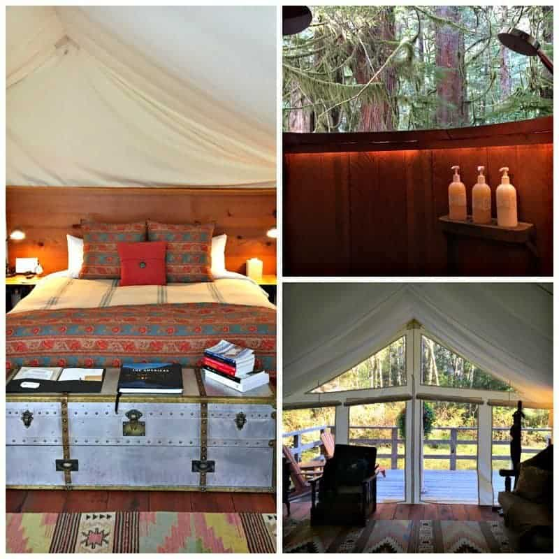 For those who've been there and done that, the ultimate in wild luxury glamping experiences await at Clayoquot Wilderness Resort in Tofino, Canada.