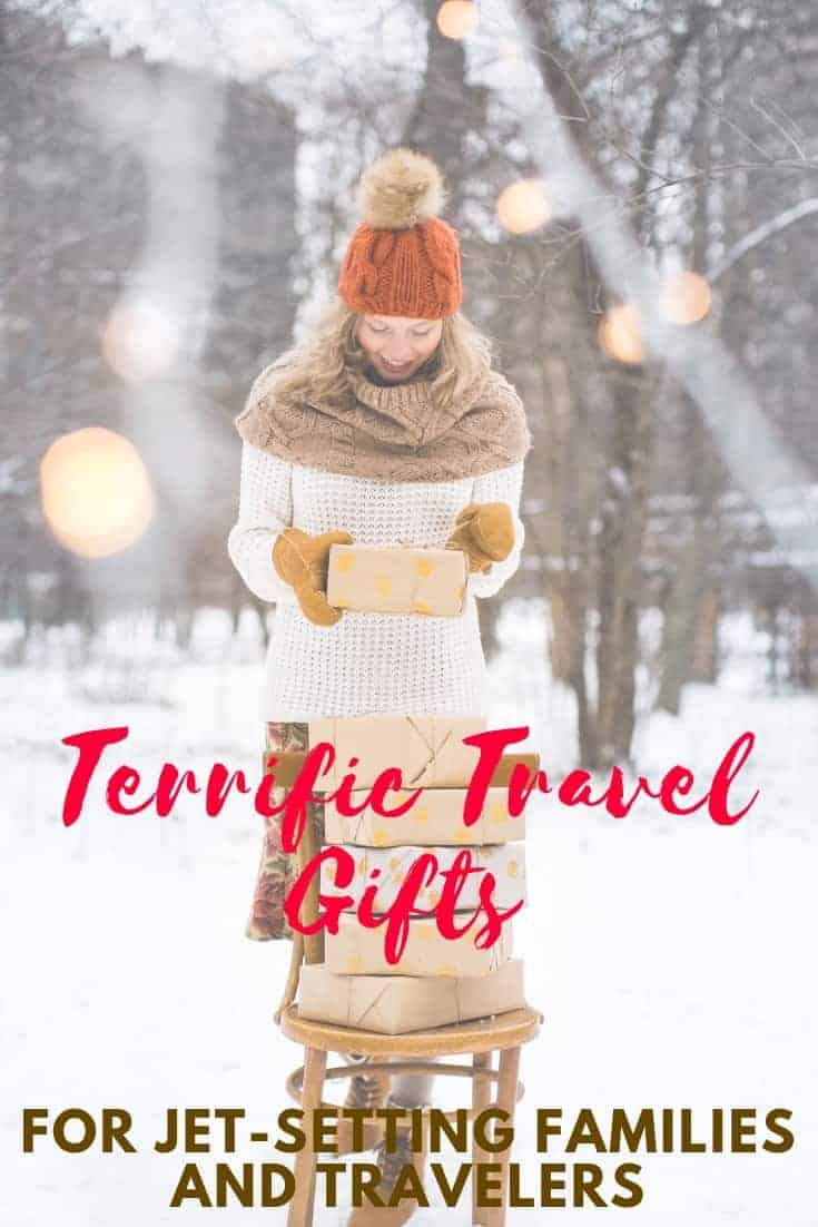 Our best traveler gift guide has everything you need for your jet-setting friends and family. From insta-cameras, toys and tech, flying machines and gifts that give back, here's a terrific and crave-worthy gift guide for travelers. #christmas #giftguide #travelgifts #travelgiftsforkids #travelgiftguide #travelgiftsforadults #jetsettravelgifts #holidaygiftguide