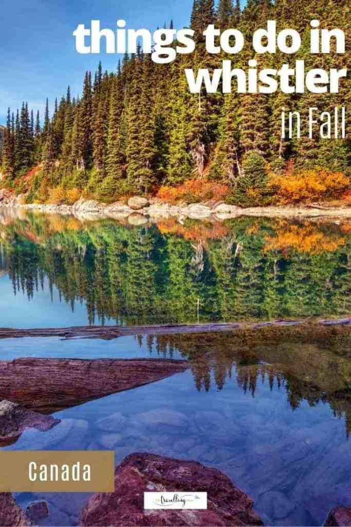 things to do in whistler in fall