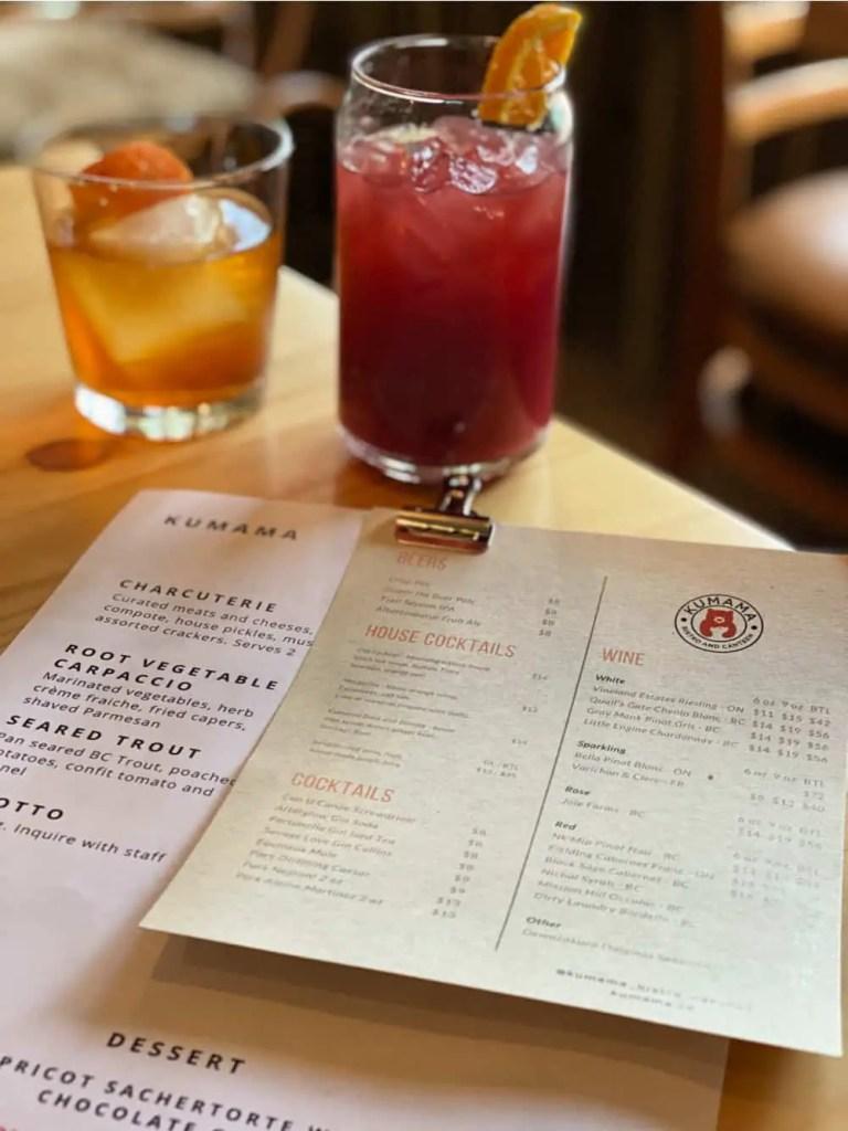 kumama cocktails