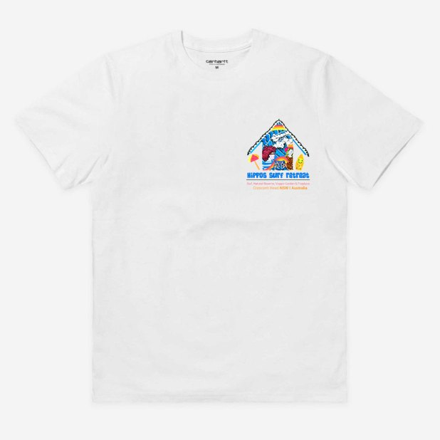 T-Shirt Graphic for a Surf Retreat in Crescent Head, NSW Australia
