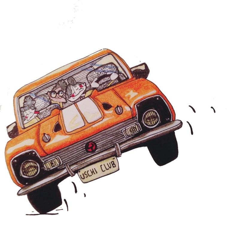 Claudie Linke_Children Illustration_The Old Gang