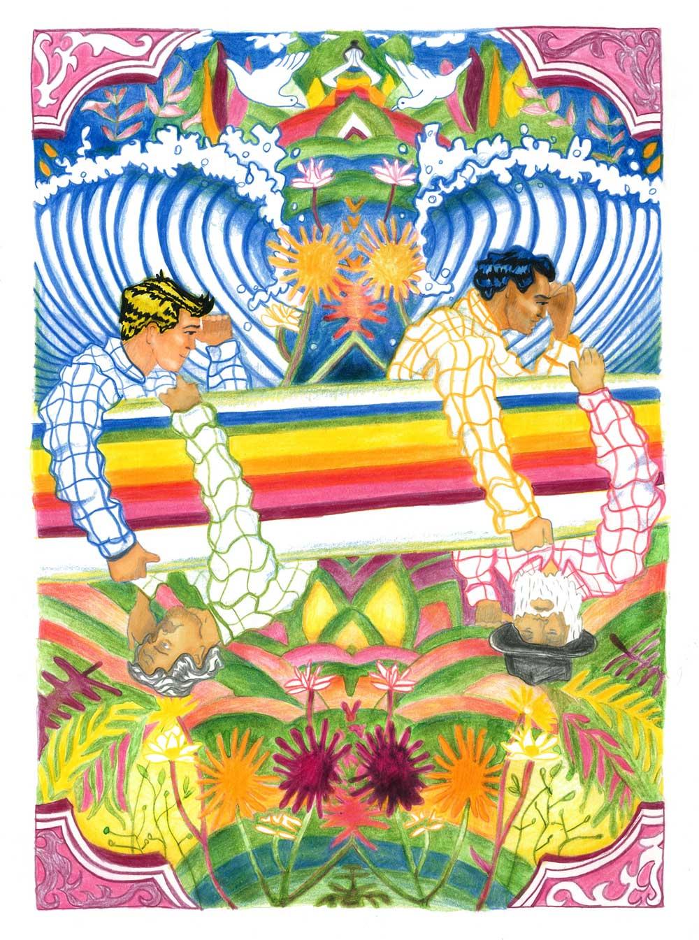 Claudie Linke Illustration I the Beach Boys