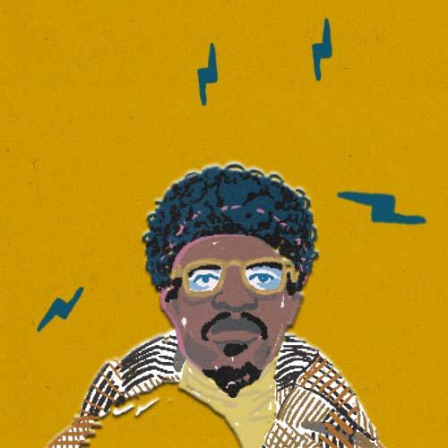 Claudie Linke Illustration_Black Man