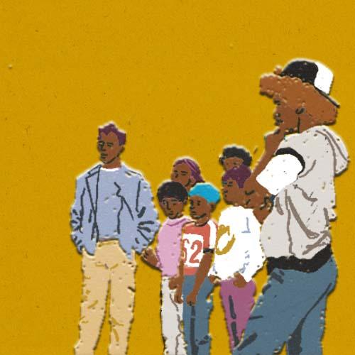 Claudie Linke Illustration_The A Team New York Hip Hop Gangs