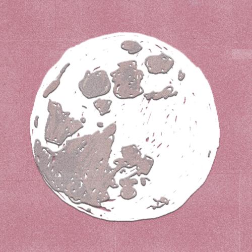 Claudie Linke Illustration_The Moon