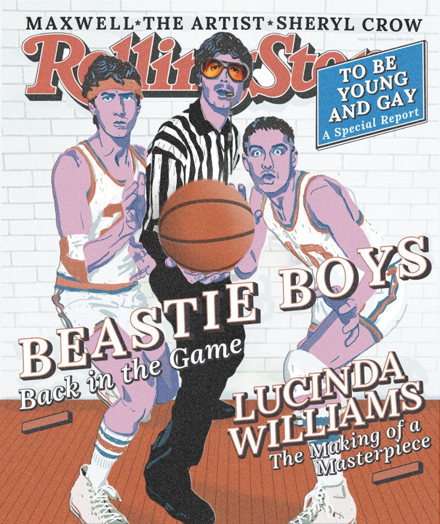 Claudie Linke Illustration_Rolling Stone Magazine Cover_Beastie Boys