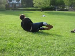 Doing the croqueta!