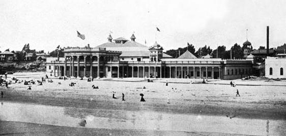 Long Beach bathhouse