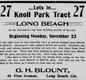 Knoll Park tract