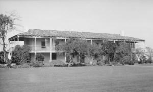 Ranch house of Rancho Los Cerritos