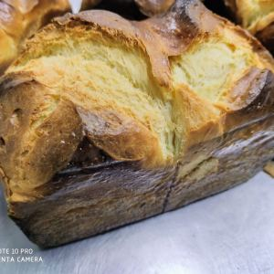 "RECIPE & MEDIA: OLIVE BRIOCHE ""PANETTONE FLAVOUR"" (ENGLISH / GERMAN)"