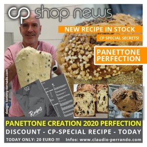 RECIPE & MEDIA: CP-PANETTONE ULTIMATE CREATION 2020 (English / Deutsch / Espanol)