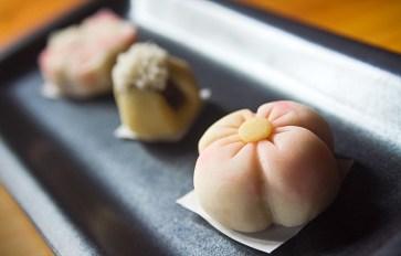 Yuri´s homemade wagashi