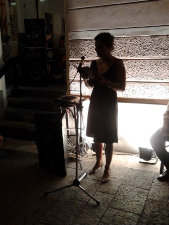 "Alessandra ""Libe"" Liverani - Faenza, Caffè Nove100, martedì 23/07/2013"