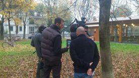 Episodio #2 - Il regista Marco Gianstefani controlla le riprese dal monitor...