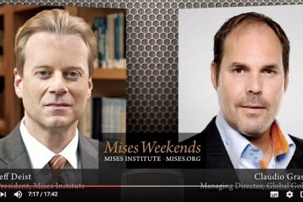 Jeff Deist and Claudio Grass: The Upcoming Swiss Gold Referendum