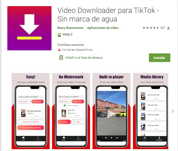 sssTiktok android application