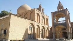 Catedral armênia do lado de fora