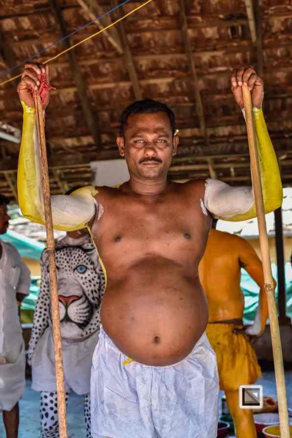 India - Kerala - Thrissur - Onam Festival - Pulikali