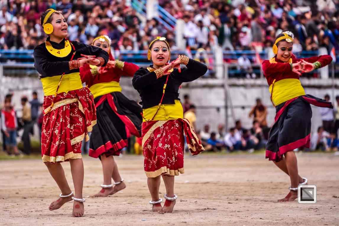 India - West Begal - Darjeeling - Independence Day Celebration-33