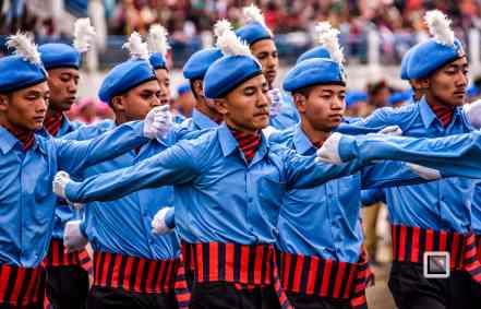 India - West Begal - Darjeeling - Independence Day Celebration-8