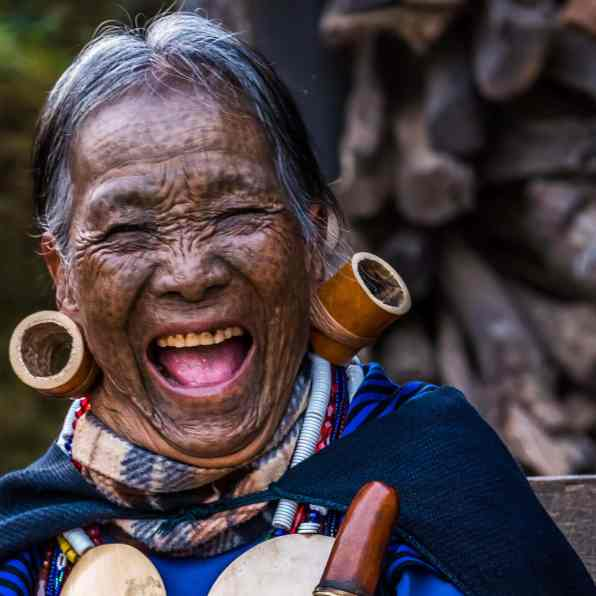 Myanmar Chin Tribe Portraits Color-16