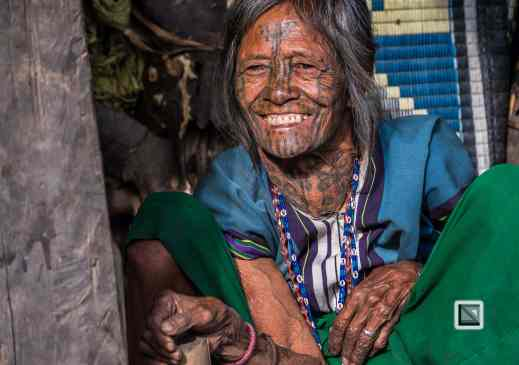 Myanmar Chin Tribe Portraits Color-2