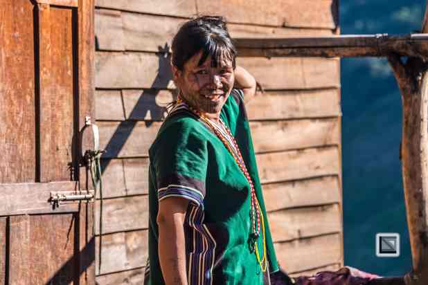 Myanmar Chin Tribe Portraits Color-4