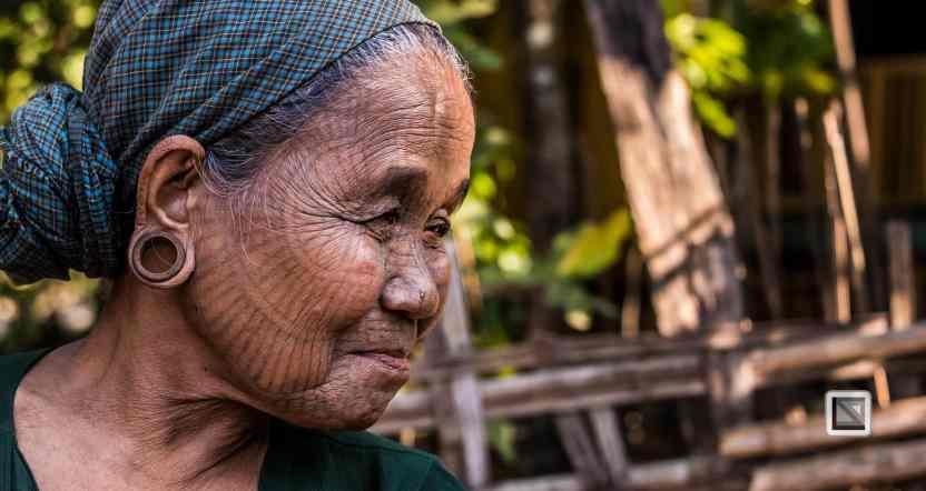 Myanmar Chin Tribe Portraits color Mrauk-U-29