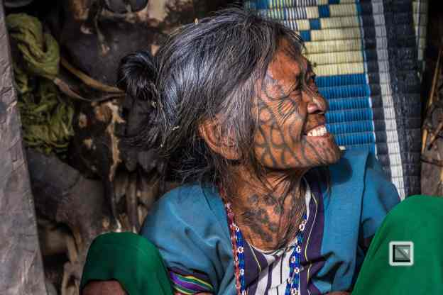 Myanmar Chin Tribe Portraits Color
