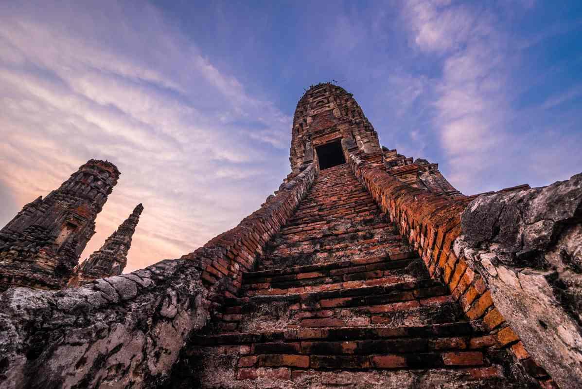 Ayutthaya - Wat Chai Watthanaram-33
