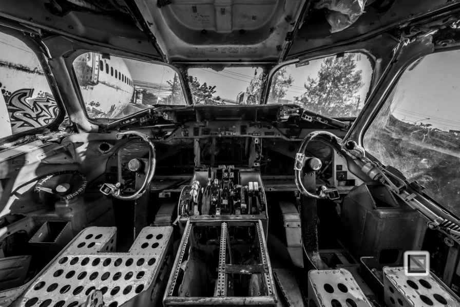 Bangkok airplane graveyard