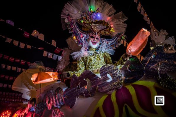 Masskara Festival in Bacolod, Negros Oriental, Philippines