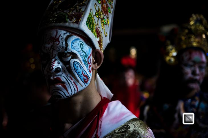 Taiwan, Chiayi, the last day of the Ghost Month - Celebration Cheng Huang God Patrol